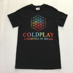 Coldplay Band Tour Graphic Tee